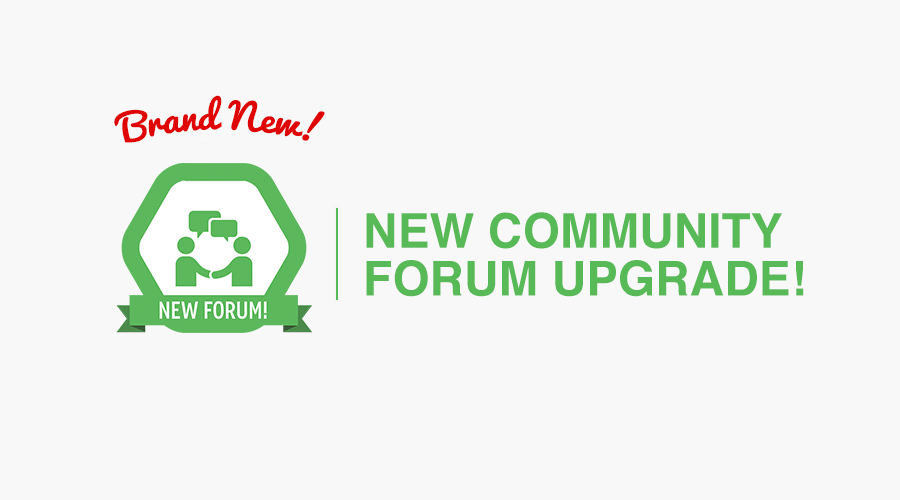 The Forum is Here!